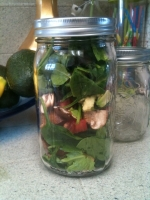 Salad in a jar book