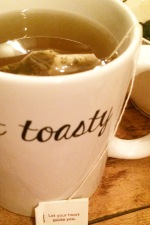 get toasty