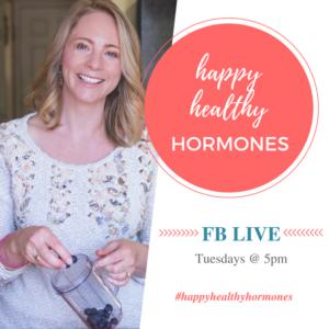 happy healthy hormones image white